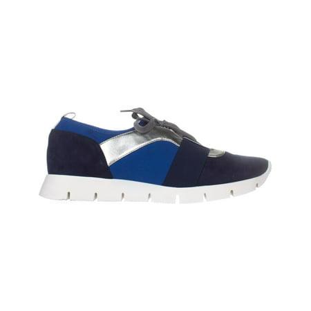 Nine West Welldone Fashion Sneakers, Navy Multi - image 4 de 6