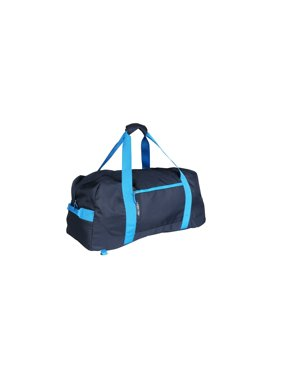 Ozark Trail Camping Carry-All 90L Duffel with Backpack Straps, Blue