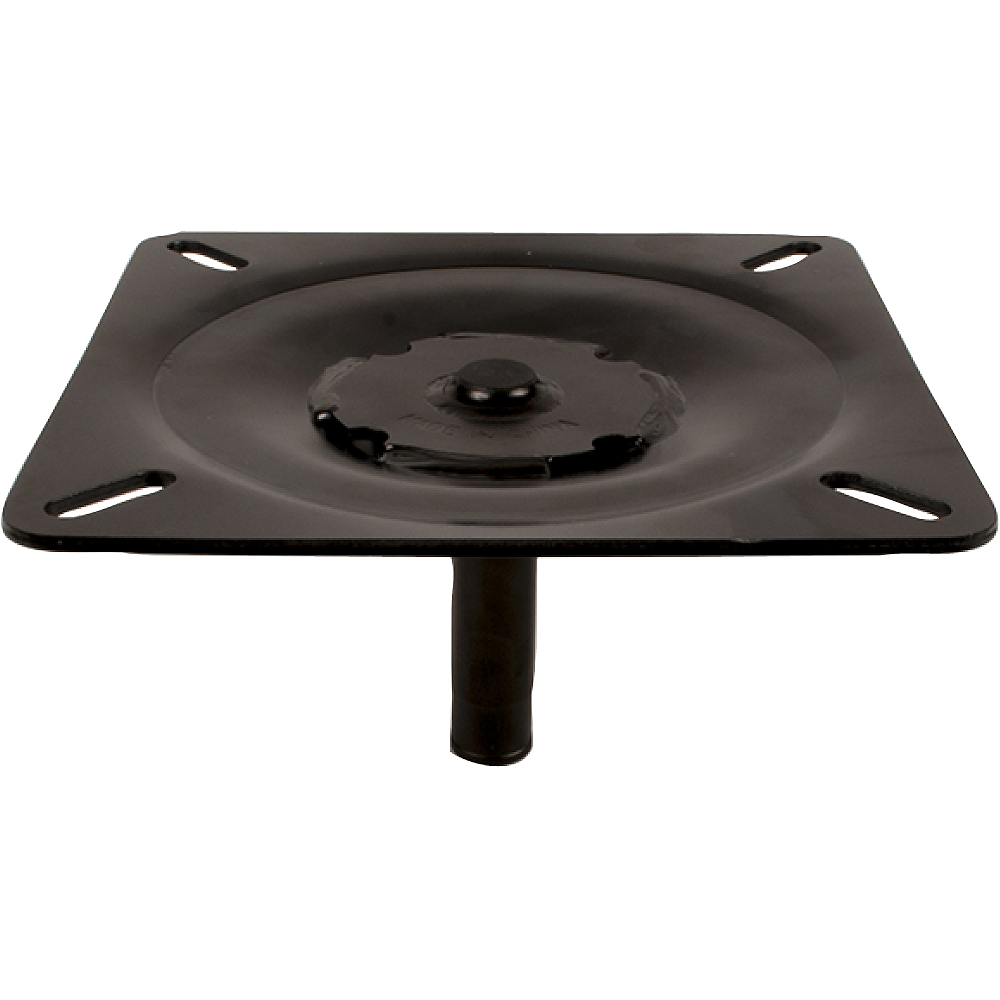 """Attwood Lock'N-Pin 3/4"""" Black E-Coated-Pin Seat Mount, Without Spring"""