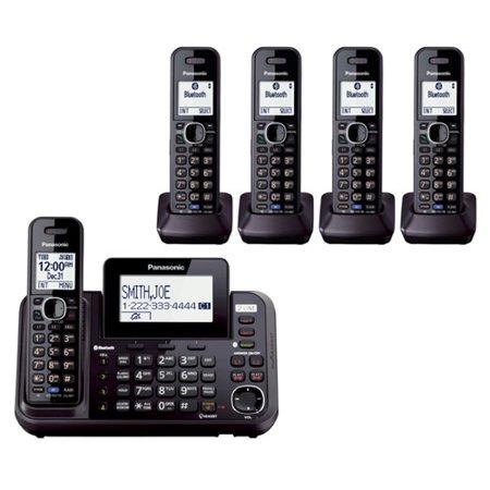 Panasonic KX-TG9545B 5 Handset Cordless Phone by