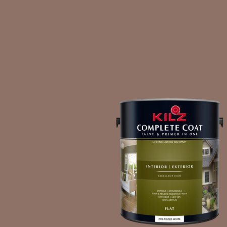 KILZ COMPLETE COAT Interior/Exterior Paint & Primer in One #LM240 Fine