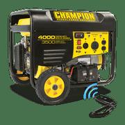Champion 46565 3500-Watt RV Ready Portable Generator with Wireless Remote Start (EPA)