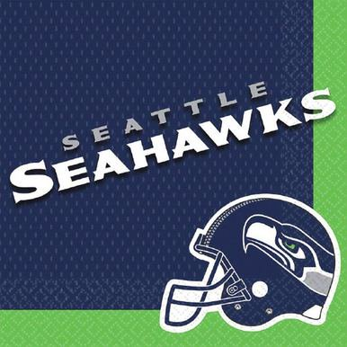 NFL Seattle Seahawks Luncheon Napkins [16 pack] (Wholesale Nfl)
