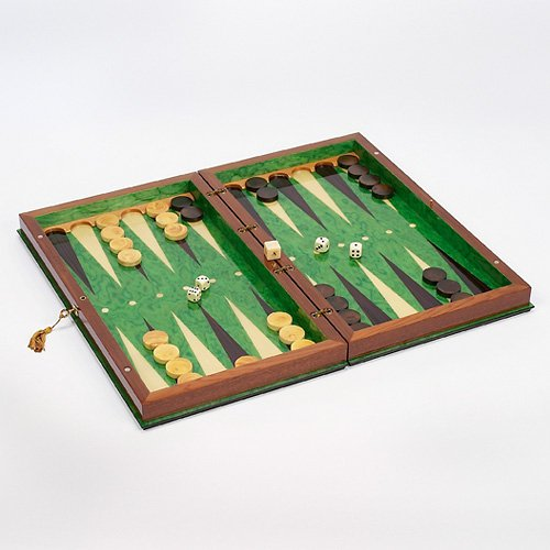 19in Sorento II Backgammon Set by Cambor Games