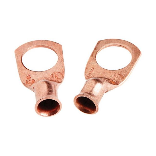 60102 8 x 0.37 in. Welding Cable Lug  2 per Pack