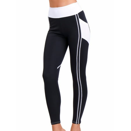 b3dd59a69 FITTOO Activewear Skinny Sport Leggings Yoga Pants Capri Exercise Workout  Leggings Gym Compression