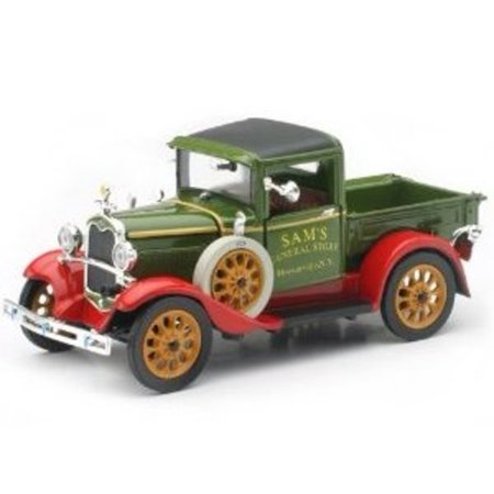 - 1931 Ford Model A Pickup Truck 1:32 Scale by Newray Diecast Multi-Colored