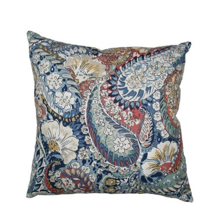 Zen Throw Pillows : Swan Fabrics Zen Paisley Throw Pillow - Walmart.com