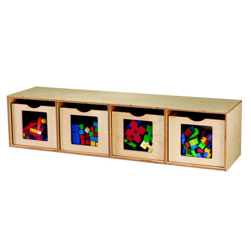 Childcraft See Me Bench and Cubby Unit