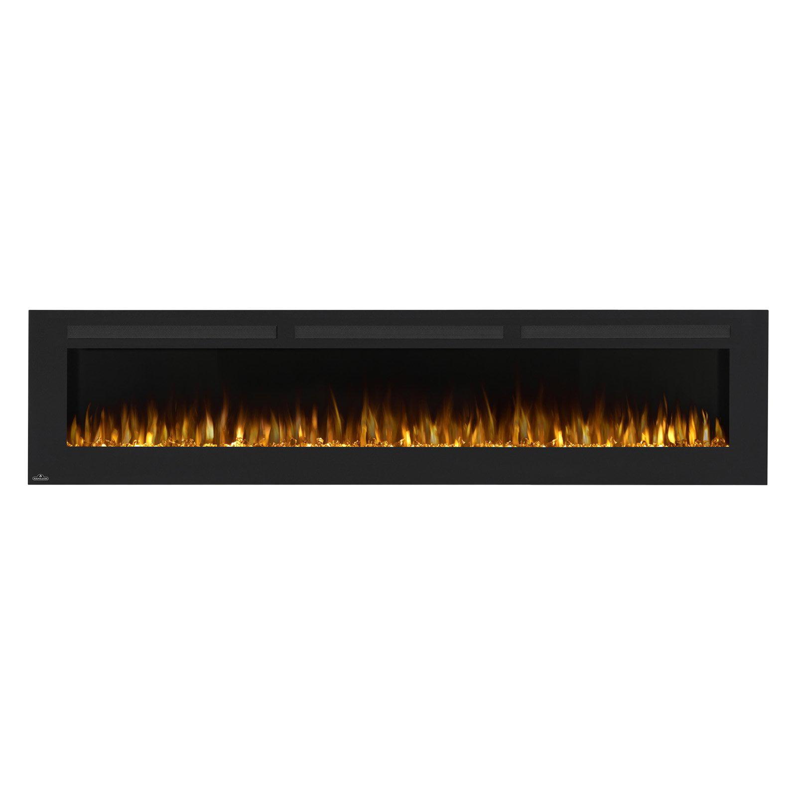 napoleon allure linear wall mount electric fireplace walmart com