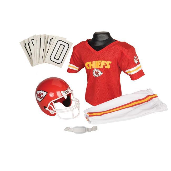 Franklin Sports 15701F21P1Z NFL CHIEFS Medium Uniform Set
