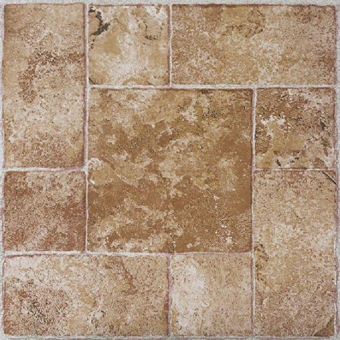 Achim Nexus Beige Terracotta 12x12 Self Adhesive Vinyl Floor Tile - 20 Tiles/20 sq. ft.