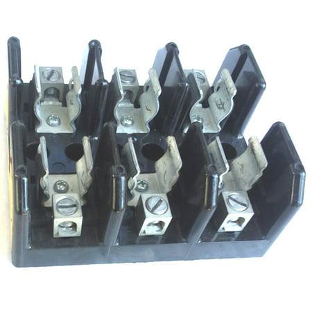 30a Fuse Block Holder - Bussmann J60030-3CR 30A 3P 600V fuse holder block