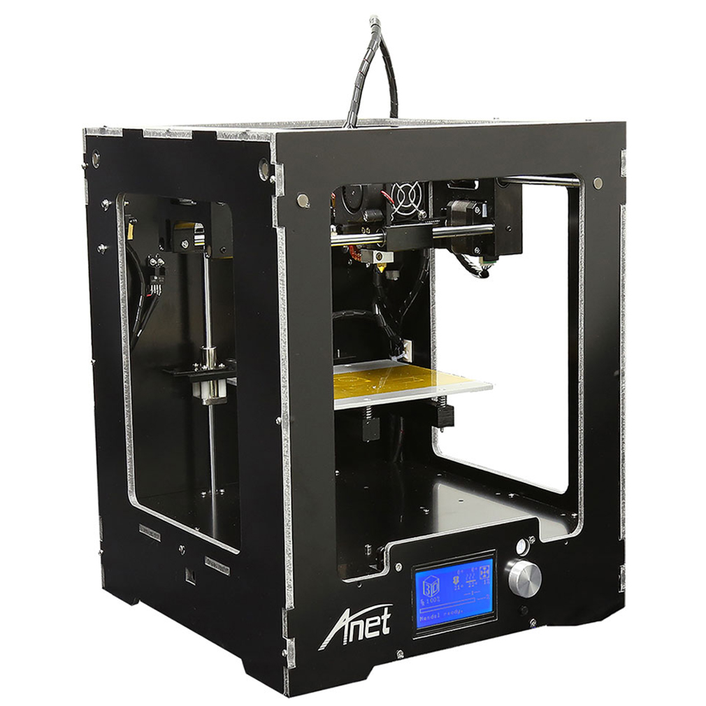 LESHP A3 3D Printer Full Assembled Desktop Aluminum Extruder Mainboard Component