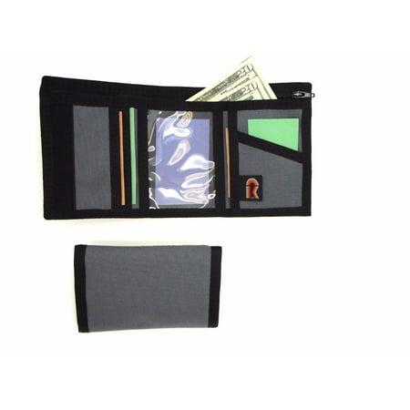 Rainbow Tri Fold Wallet (Made In USA Rainbow Of California Id Trifold Rfid-Blocking Panel Mens Wallet )