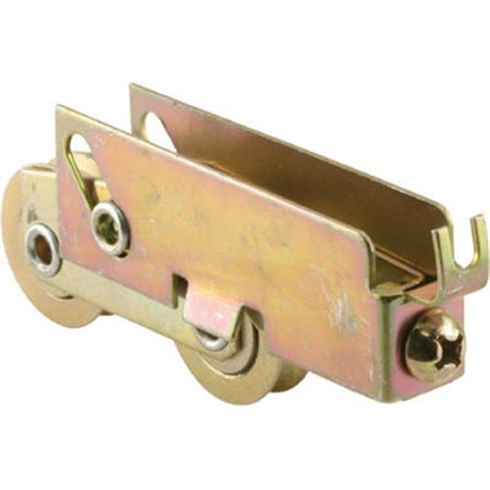 PRIME LINE PRODUCTS Adjustable Yellow Zinc-Plated Sliding Patio Door Tandem Roller Assembly 134279