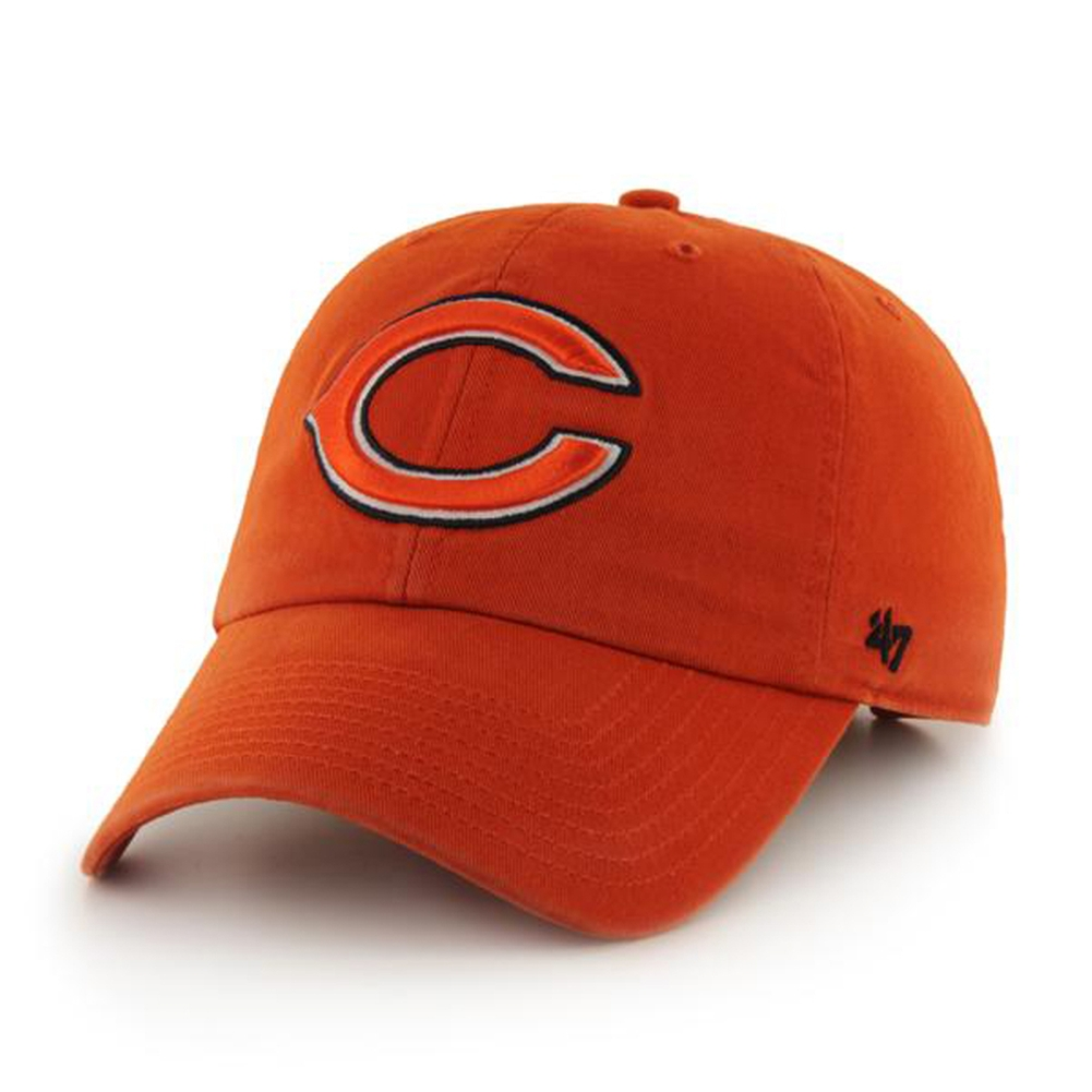 Chicago Bears - Logo Clean Up Orange Adjustable Baseball Cap