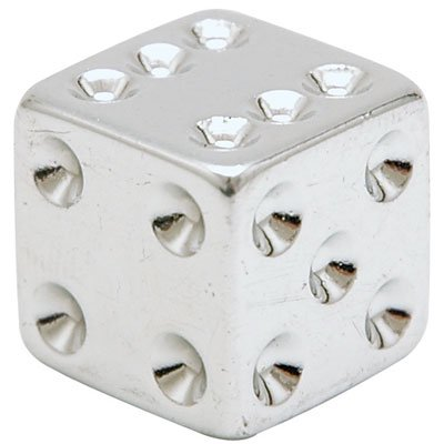 Trik Topz Dice - Trik Topz,Dice,Chr,Pair One Pair Of Caps