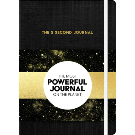 The 5 Second Journal : The Best Daily Journal and Fastest Way to Slow Down, Power Up, and Get Sh*t (Best Way To Get Rid Of Neck Fat)