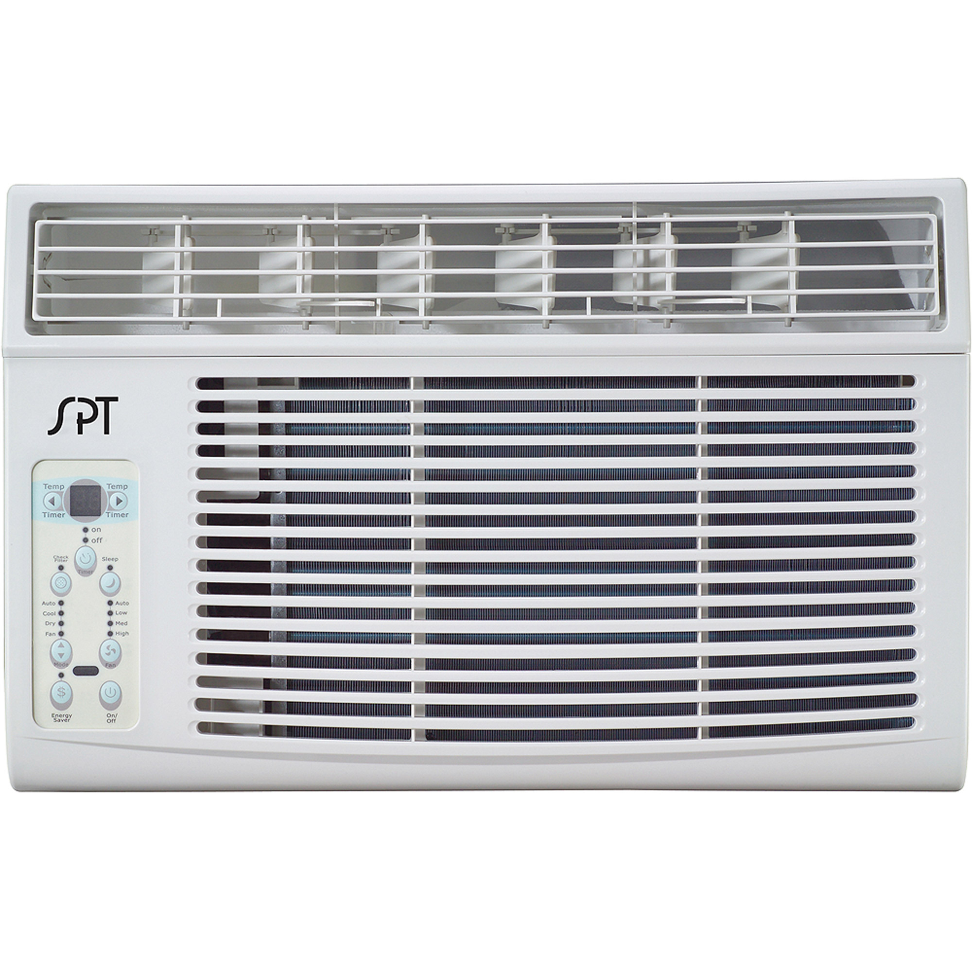 Sunpentown Evergy Star 8000 BTU Window Air Conditioner with Remote Control, White