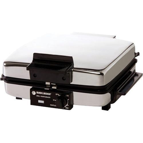 Black & Decker g49td Grill & Waffle Maker