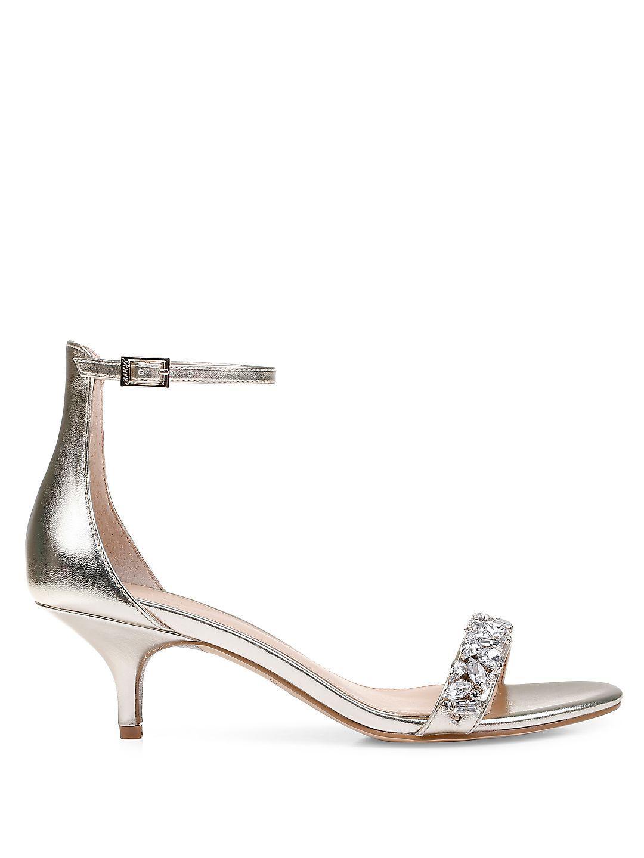 Dash Ankle Strap Kitten Heel