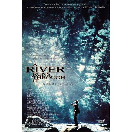 A RIVER RUNS THROUGH IT [1992], directed by ROBERT REDFORD. Print Wall