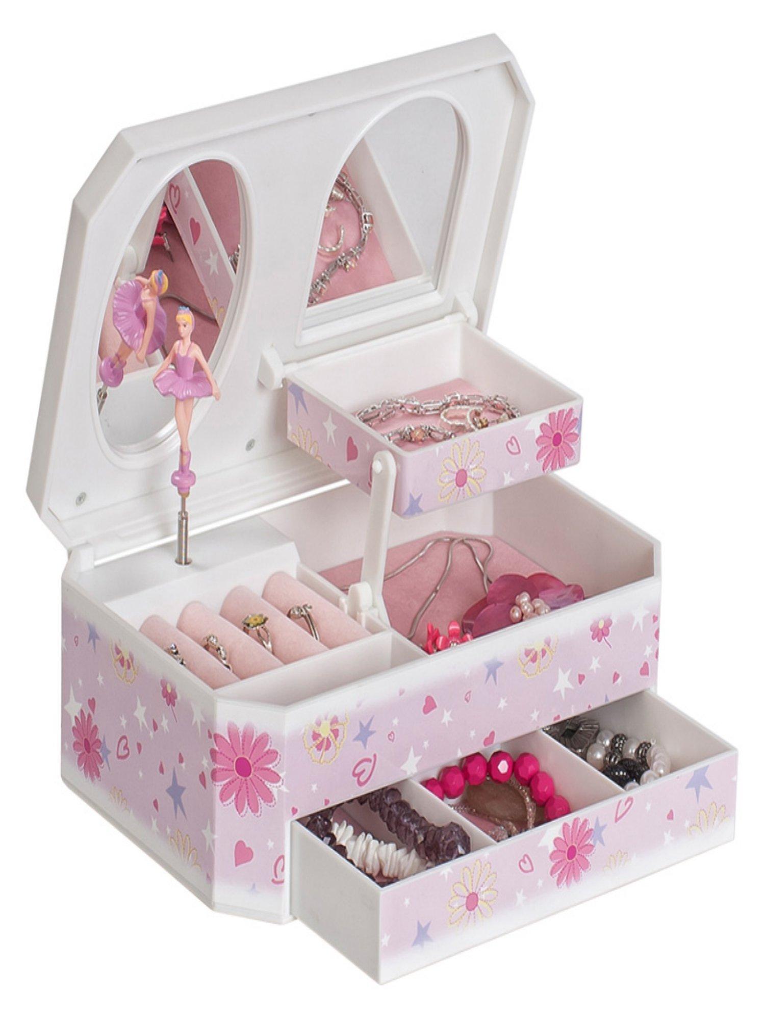 Mele & Co. Hayley Glittery Musical Ballerina Jewelry Box