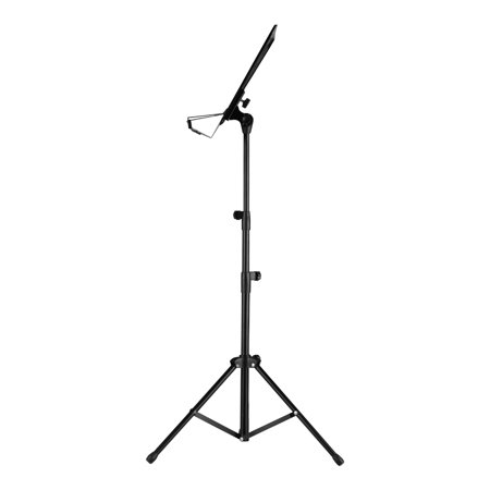 Portable Metal Music Stand Detachable Musical Instruments for Piano Violin Guitar Sheet Music Black - image 5 of 7