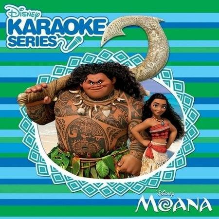 Disney Karaoke Series  Moana  Cd