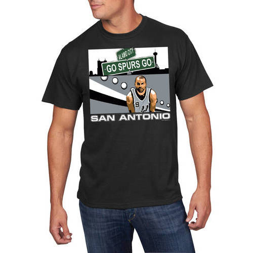 NBA Men's San Antonio Spurs Tony Parker Player Tee