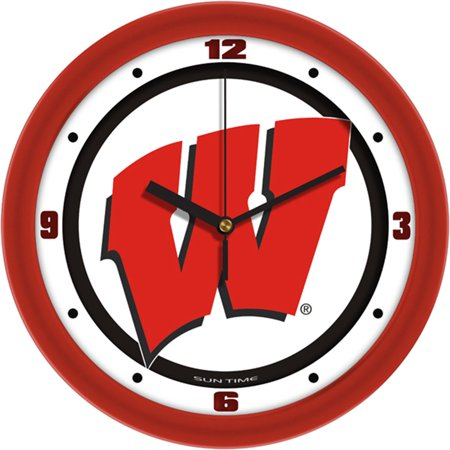 - Wisconsin Badgers NCAA Wall Clock