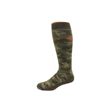 Drake Camo Merino Wool Blend Socks, Camo, Lrg (W 9-12 / M 9-13), 1 Pair ()