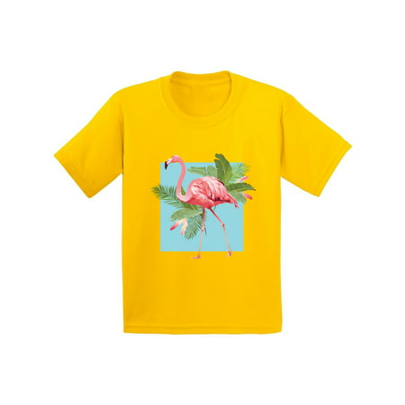 Awkward Styles Punk Flamingo Tshirt for Kids Floral Flamingo Shirt Flamingo  Shirts for Boys Floral Summer T Shirt Summer Party Beach Outfit Pink