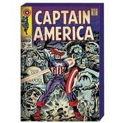 Captain America Retro Comic Book Cover MDF Box Art