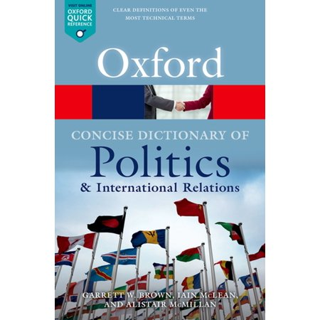 The Concise Oxford Dictionary of Politics and International Relations -