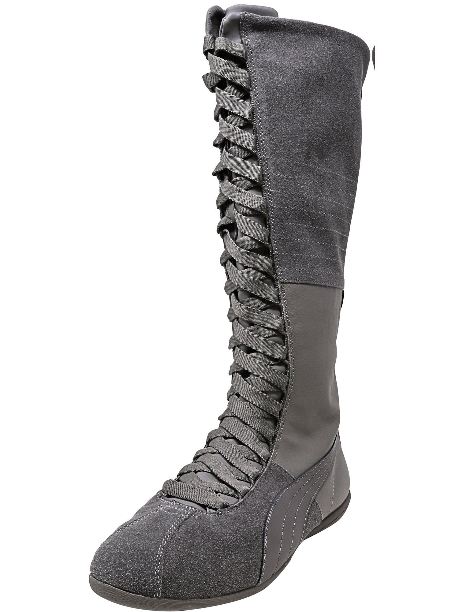 Puma Women's Eskiva Very Hi Steel Gray