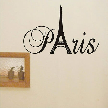 New France Paris Eiffel Tower Wall Sticker Vinyl Decal Mural Home Room Decor - Paris Room Decor Ideas