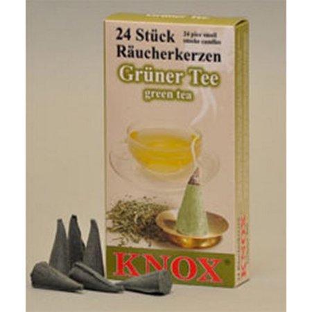 Pinnacle Peak Trading Co Knox Green Tea Scent German Incense Cone](Portland Trading Co)
