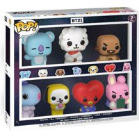 Funko UNIVERSTAR BT21 POP! Animation Koya, RJ, Shooky, Mang, Chimmy, Tata & Cooky Vinyl Figure 7-Pack