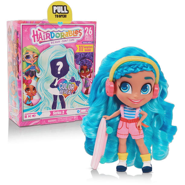 Hairdorables Collectible Dolls - Series 2 (Styles May Vary)