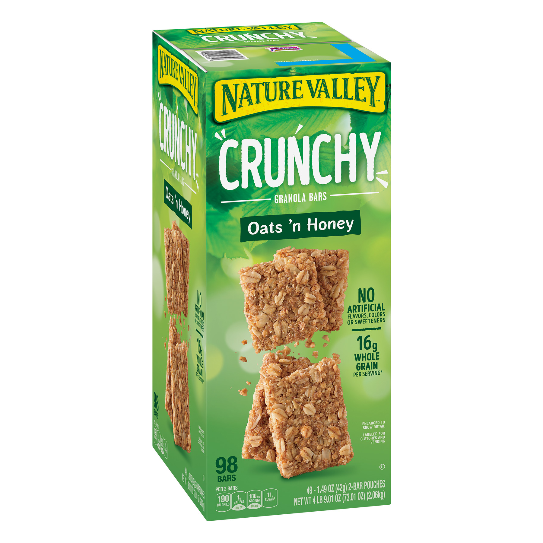 Nature Valley Oats 'N Honey Crunchy Granola Bars, 73.01 oz