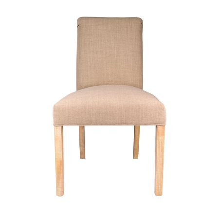 Sole Designs  Solid-colored Wood/Fabric Upholstered Dining Chairs (Set of 2) - 21 inches w. x 26 inches d. x 39 inches h ()