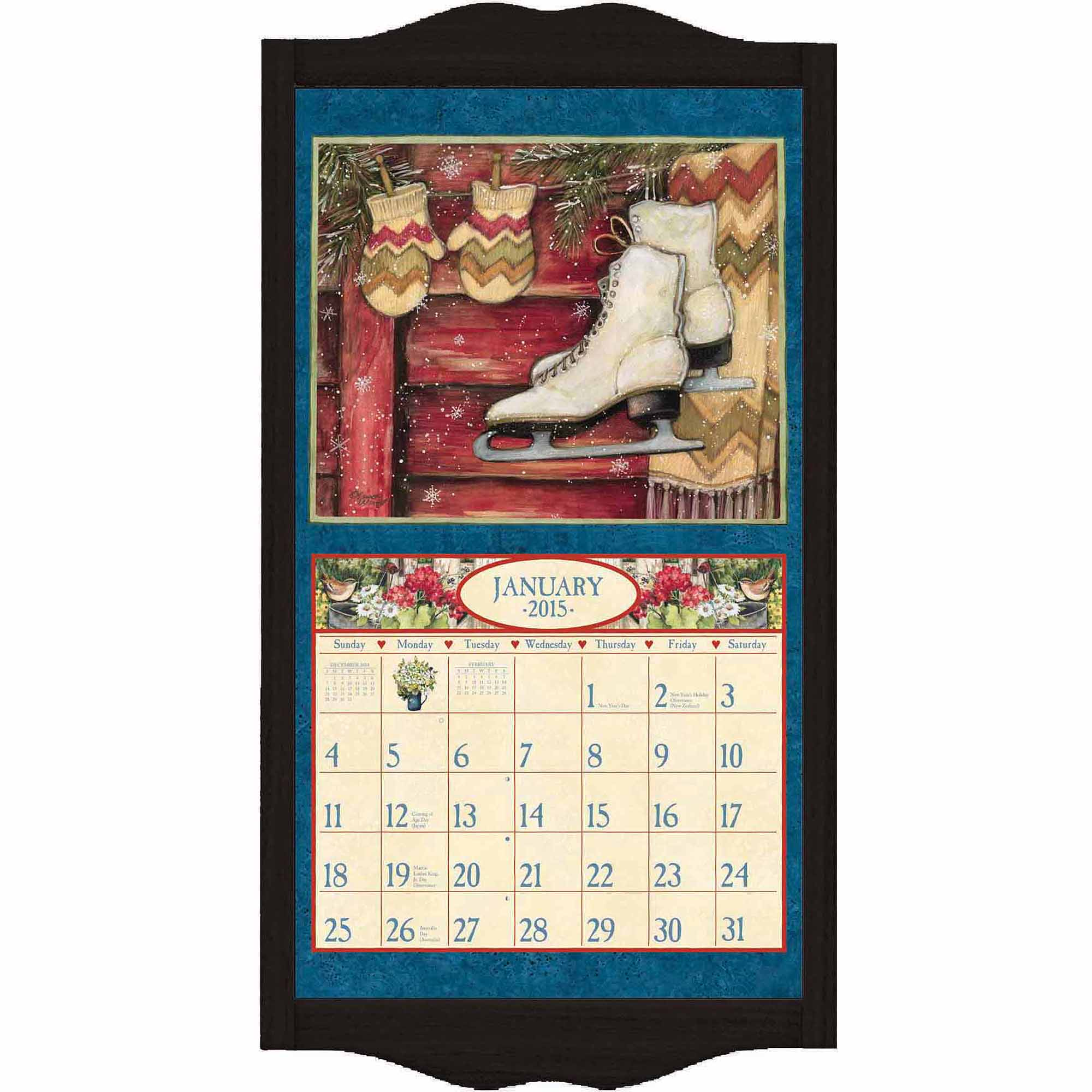 "Lang ""Black Diamond"" Calendar Frame"