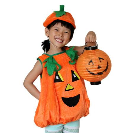 Children's Halloween cool Children Clothes Clothing Pumpkin Hat Pumpkin Modeling Children's Halloween cool Children Clothes Clothing Pumpkin Hat Pumpkin Modeling