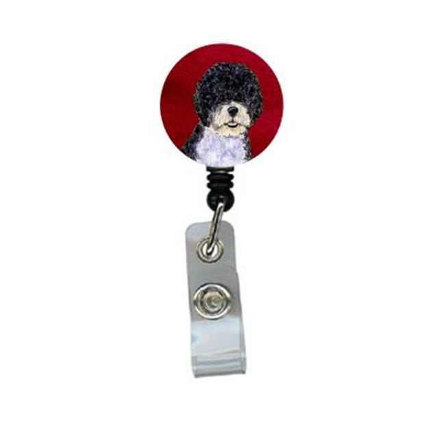 Carolines Treasures SS6042BR Portuguese Water Dog Retractable Badge Reel or ID Holder with Clip - image 1 de 1