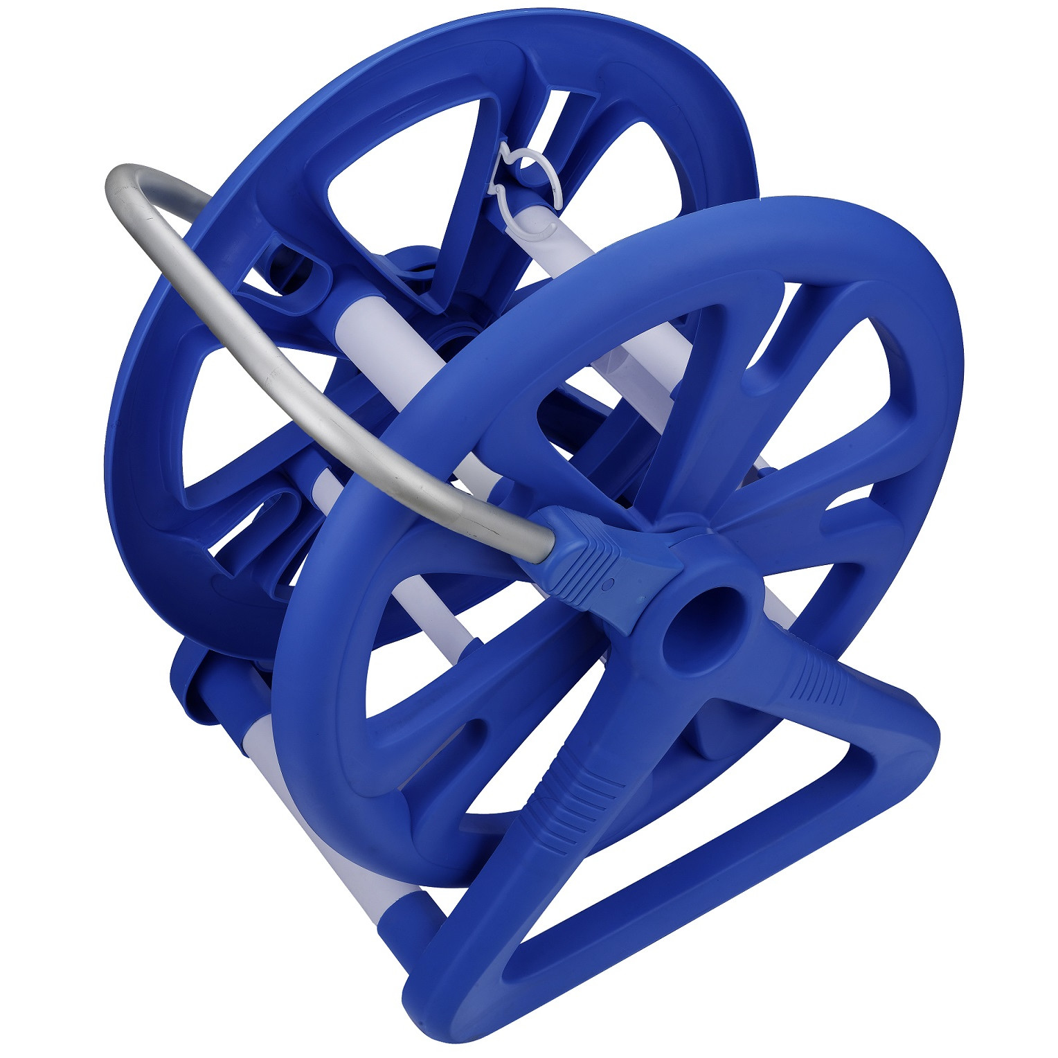 Aqua First Aluminum Vacuum Hose Reel for Swimming Pools for up to 1.5-in W x 42-in L Hoses by Blue Wave Products