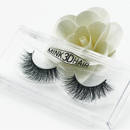 Peralng 3D Mink Fur Fake Eyelashes Hand-made False Lashes 1 Pair Package