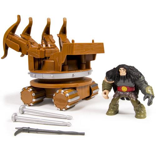 DreamWorks Dragons Dragon Riders Figures, War Machine and Drago