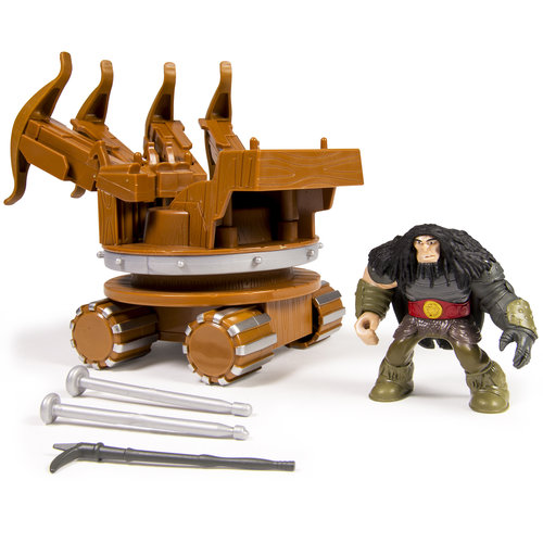 DreamWorks Dragons Dragon Riders Figures, War Machine and Drago